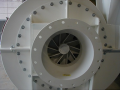 TRO Turbo Radial Wheel High Pressure Blower White